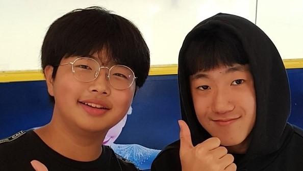 Kim, Minhyuk/Grade 8...